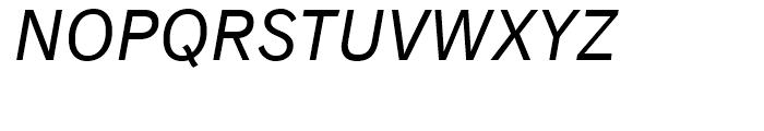 Classic Grotesque Italic Font UPPERCASE
