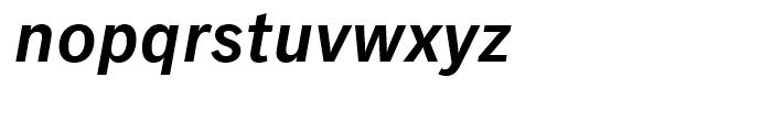 Classic Grotesque Semi Bold Italic Font LOWERCASE
