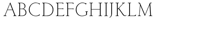 Classic Roman Light Font UPPERCASE
