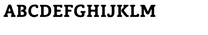 Classic XtraRound Bold Font UPPERCASE