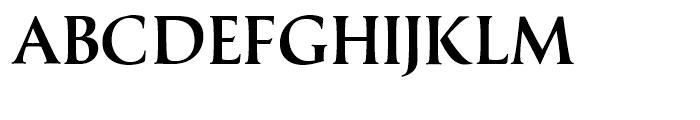 Classica Gallic Medium Font UPPERCASE