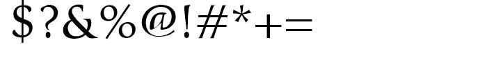 Classica Regular Font OTHER CHARS