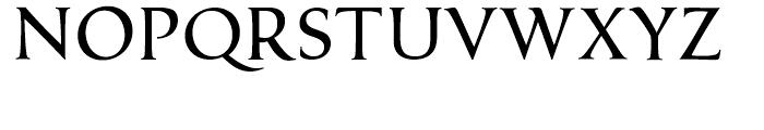 Classica Regular Font UPPERCASE