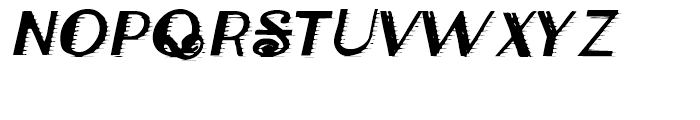 Classical Engraved Font LOWERCASE