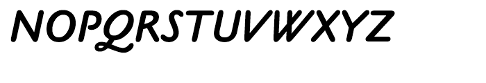 Claude Sans Bold Italic Font UPPERCASE