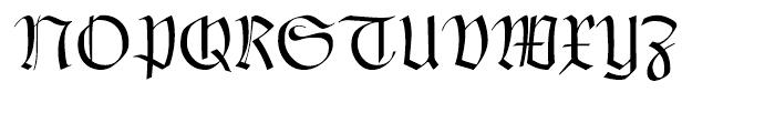 Claudius Regular Font UPPERCASE