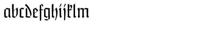 Claudius Regular Font LOWERCASE
