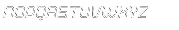 Click Light Italic Font UPPERCASE