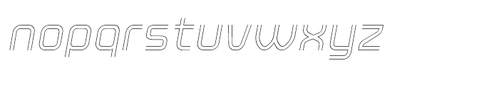 Click Light Italic Font LOWERCASE