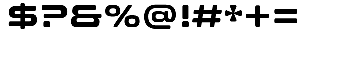 Clonoid Bold Font OTHER CHARS
