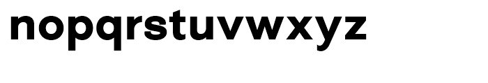 Closer Bold Font LOWERCASE
