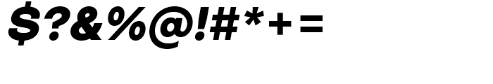 Closer ExtraBold Italic Font OTHER CHARS