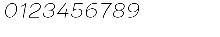 Closer ExtraLight Italic Font OTHER CHARS