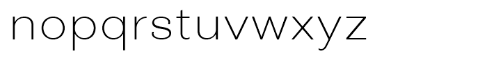 Closer ExtraLight Font LOWERCASE