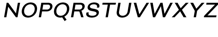 Closer Medium Italic Font UPPERCASE