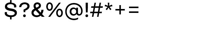 Closer Medium Font OTHER CHARS