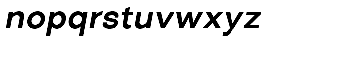 Closer SemiBold Italic Font LOWERCASE
