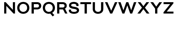Closer SemiBold Font UPPERCASE