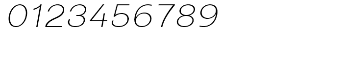 Closer Text ExtraLight Italic Font OTHER CHARS