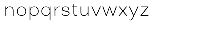 Closer Text ExtraLight Font LOWERCASE