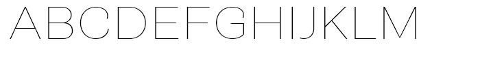 Closer Text Thin Font UPPERCASE