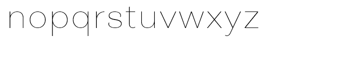Closer Text Thin Font LOWERCASE