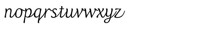 Club Type Script Regular Font LOWERCASE