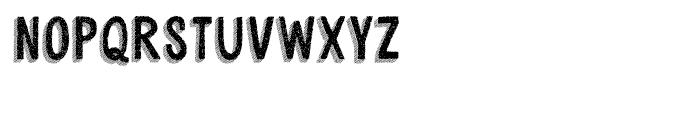 Cluster Regular Font UPPERCASE
