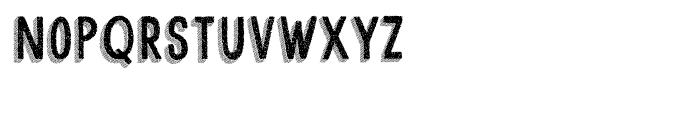 Cluster Regular Font LOWERCASE