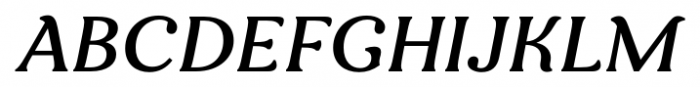 Clarence Italic Font UPPERCASE