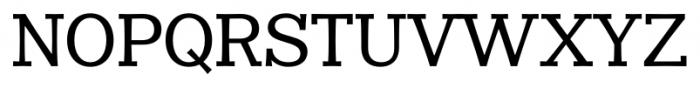 Clasica Slab Medium Font UPPERCASE