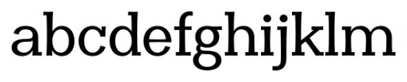 Clasica Slab Medium Font LOWERCASE