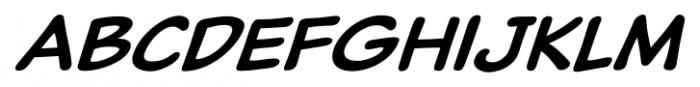 Classic Comic Italic Font LOWERCASE