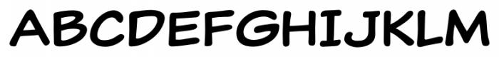 Classic Comic Regular Font UPPERCASE