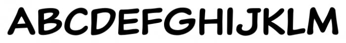 Classic Comic Regular Font LOWERCASE
