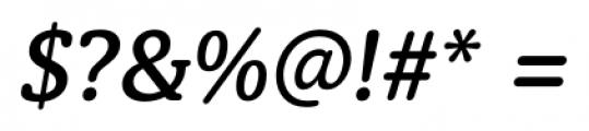 Classic Round Medium Italic Font OTHER CHARS