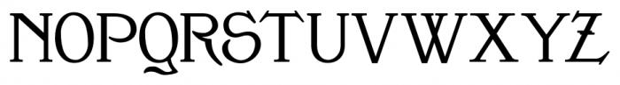 Clementhorpe Bold Font UPPERCASE