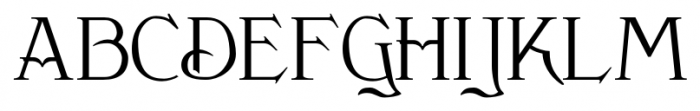 Clementhorpe Regular Font UPPERCASE