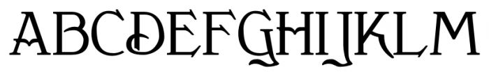 Clementhorpe Small Capitals Bold Font UPPERCASE