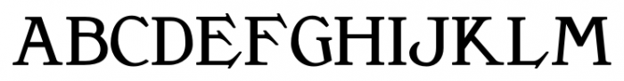 Clementhorpe Small Capitals Bold Font LOWERCASE