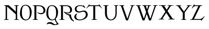 Clementhorpe Small Capitals Font LOWERCASE