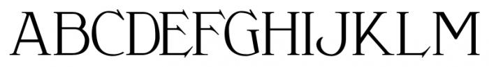 Clementhorpe Text Font UPPERCASE