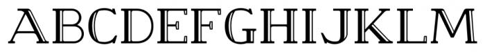 Cleveden Capitals Bold Font UPPERCASE