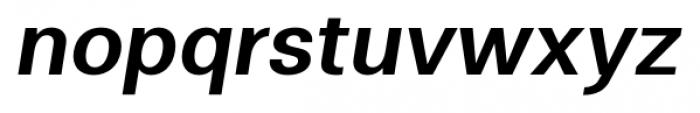 Clinica Pro SemiBold Italic Font LOWERCASE
