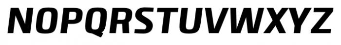 Clio Black Italic Font UPPERCASE