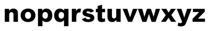 Clobber Grotesk Bold Font LOWERCASE