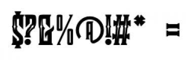 Clobot Inline Inline Font OTHER CHARS