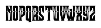 Clobot Inline Inline Font LOWERCASE