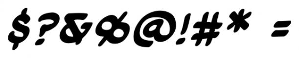 Cloudsplitter UC BB Bold Italic Font OTHER CHARS