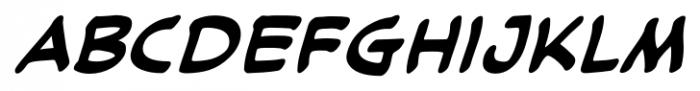 Cloudsplitter UC BB Bold Italic Font LOWERCASE